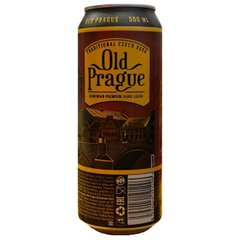 Пиво темное Old Prague dark lager, 0.5 л ж/б