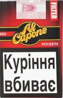 Сигары Al Capone Pockets Filter Red, 10 шт/уп.