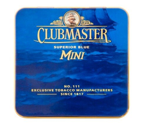 Сигары Mini Superior Blue Clubmaster, 20 шт/уп.